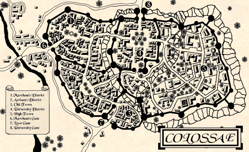 colossae map