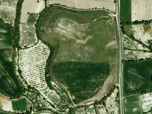colossae mound google earth