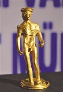 Ancient golden Roman statue stolen in Denizli