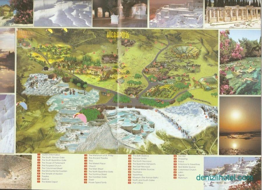 pamukkale map